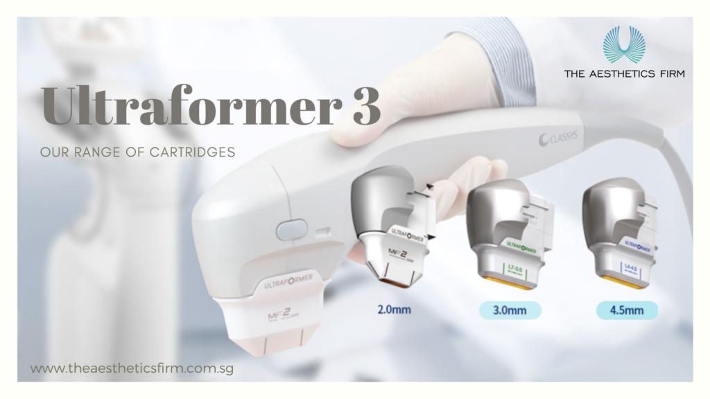 Our Hifu Ultraformer 3 cartridges